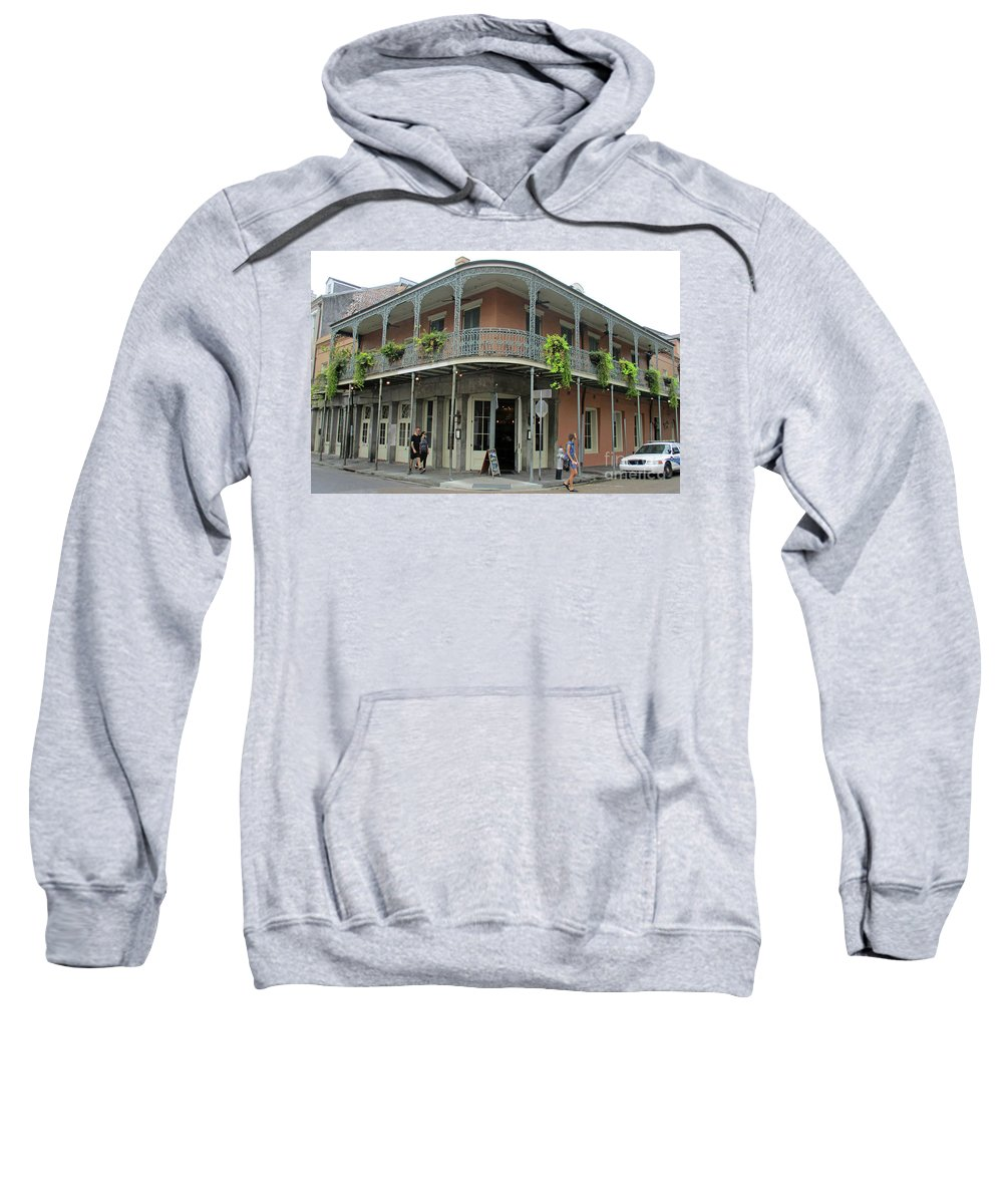 French Quarter Sweatshirt featuring the photograph French Quarter 3 by Randall Weidner