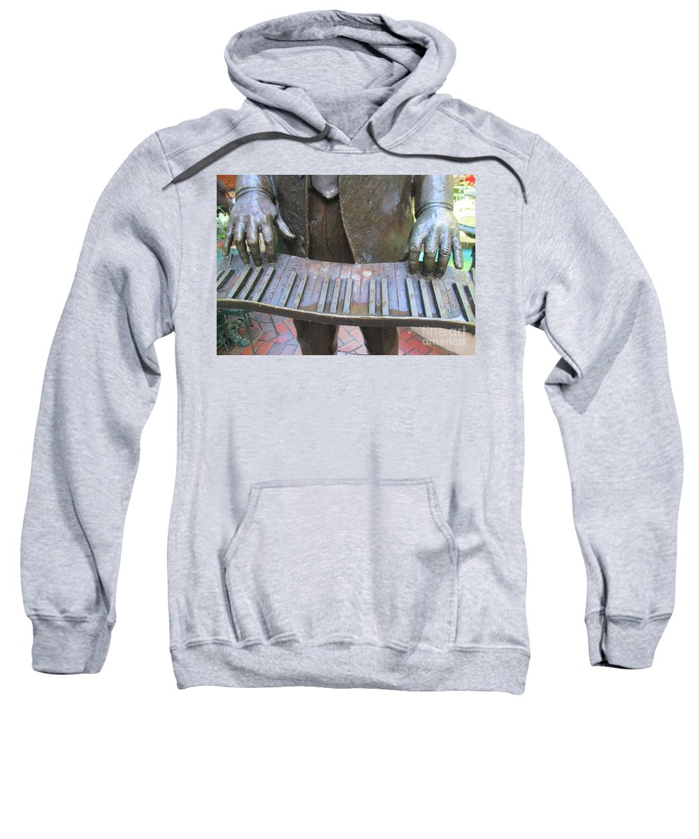 French Quarter Sweatshirt featuring the photograph French Quarter 34 by Randall Weidner