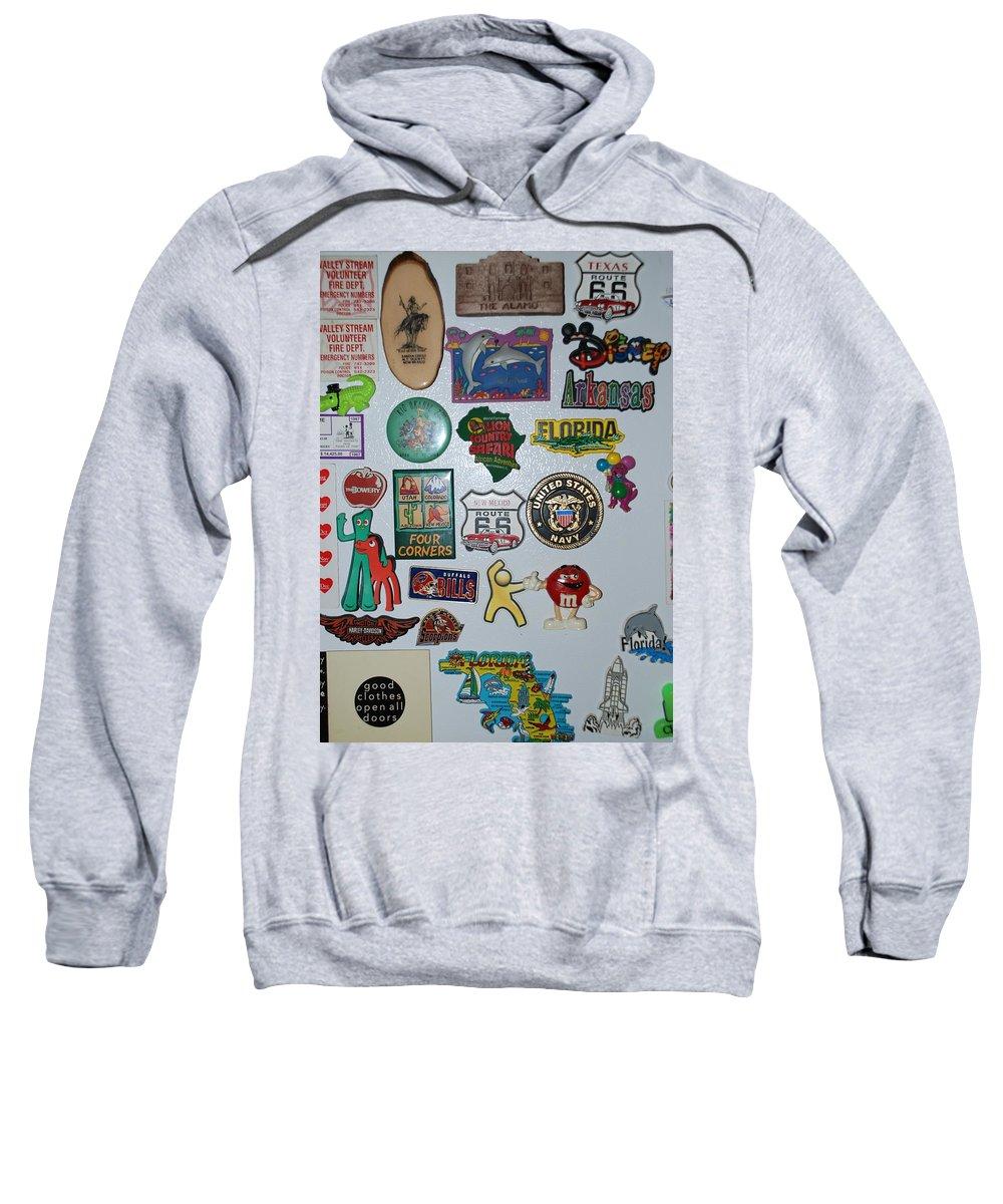 Refrigerator Sweatshirt featuring the photograph Fridge Magnets by Rob Hans