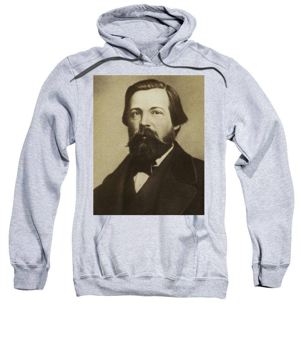 Engels Sweatshirt featuring the photograph Friedrich Engels by German School