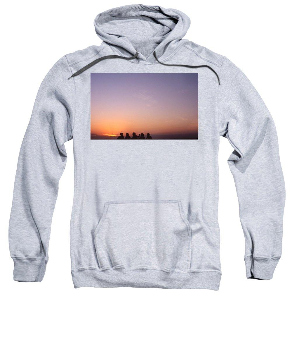 Bahia Sweatshirt featuring the photograph Friends by Patrick Klauss