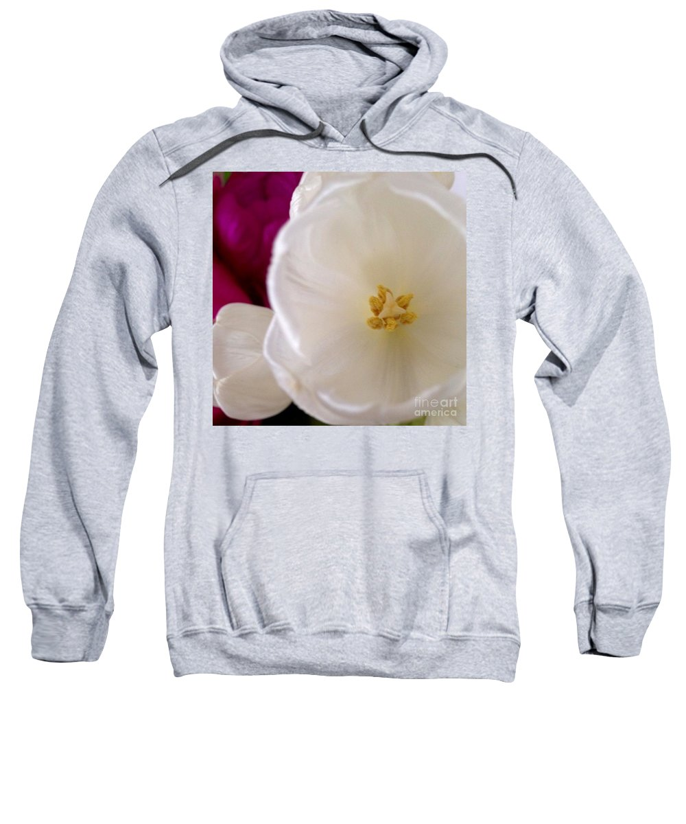 Flowers Sweatshirt featuring the photograph Friendship by Denise Railey