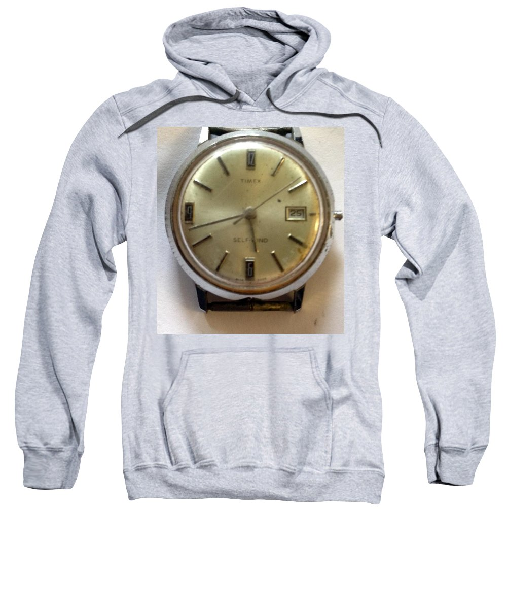 Sweatshirt featuring the photograph Frozen In Time by Lost Zone