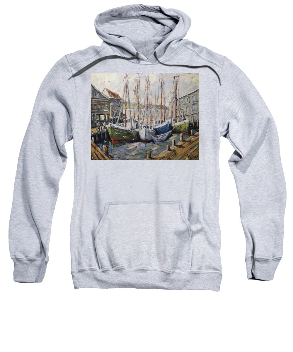 Art Sweatshirt featuring the painting Full House By Prankearts Fine Art by Richard T Pranke