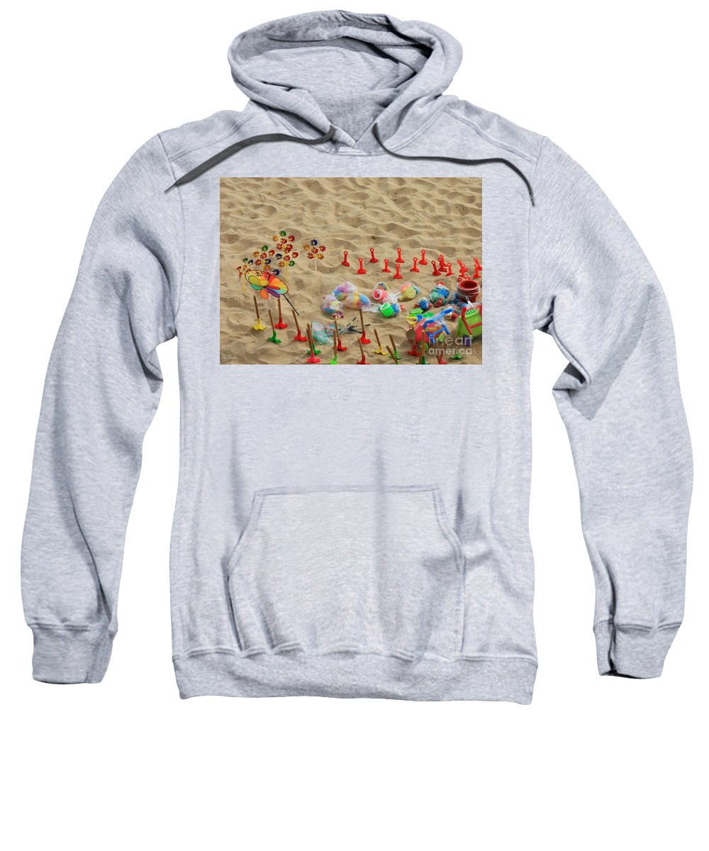 Beach Fun Sweatshirt featuring the photograph Fun At The Beach by Carol Groenen