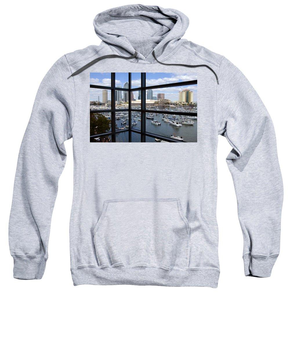Gasparilla Sweatshirt featuring the photograph Gasparilla Invasion by David Lee Thompson