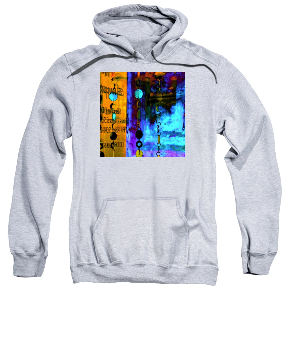 Abstract Sweatshirt featuring the photograph Genisis 1 by Deb Cohen