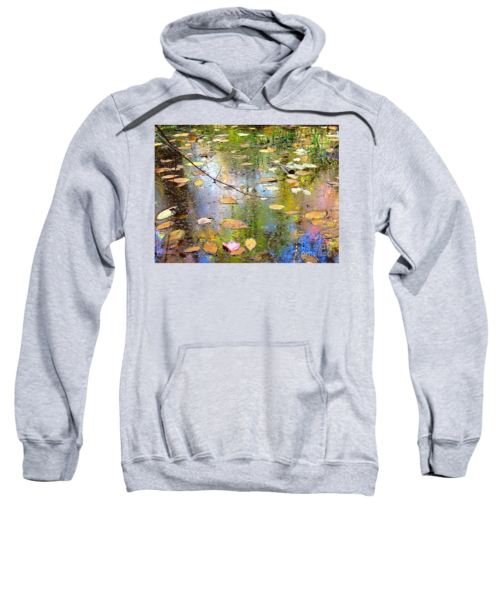 Water Sweatshirt featuring the photograph Gentle Nature by Sybil Staples