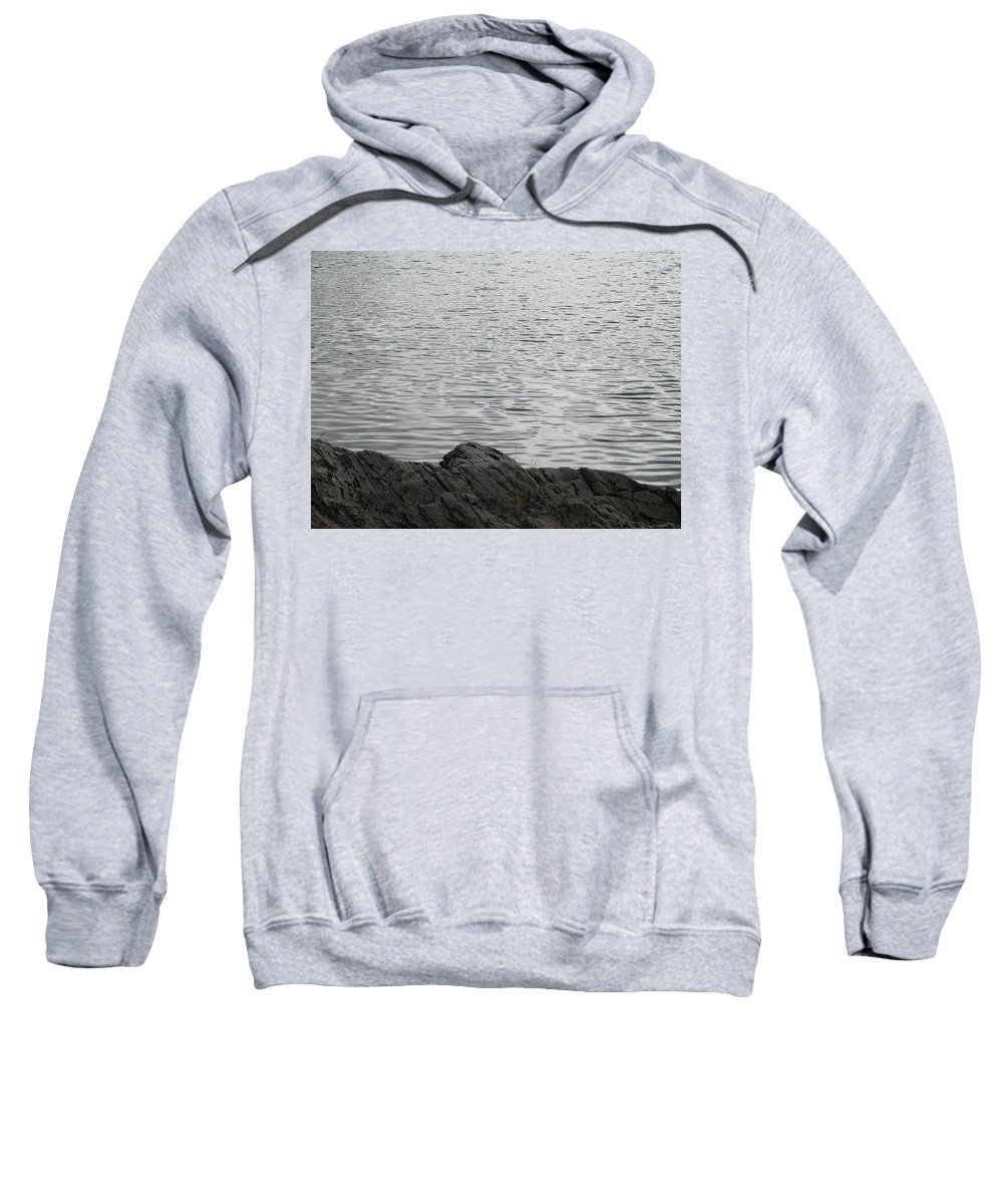 Water Sweatshirt featuring the photograph Gentle Waters by Kelly Mezzapelle