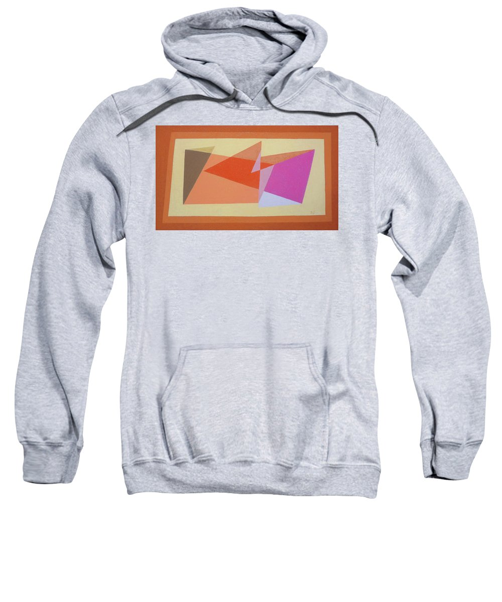 Geometry Sweatshirt featuring the pastel Geometry Shapes And Colors 6 by Teresa De Jesus Peres de Souza