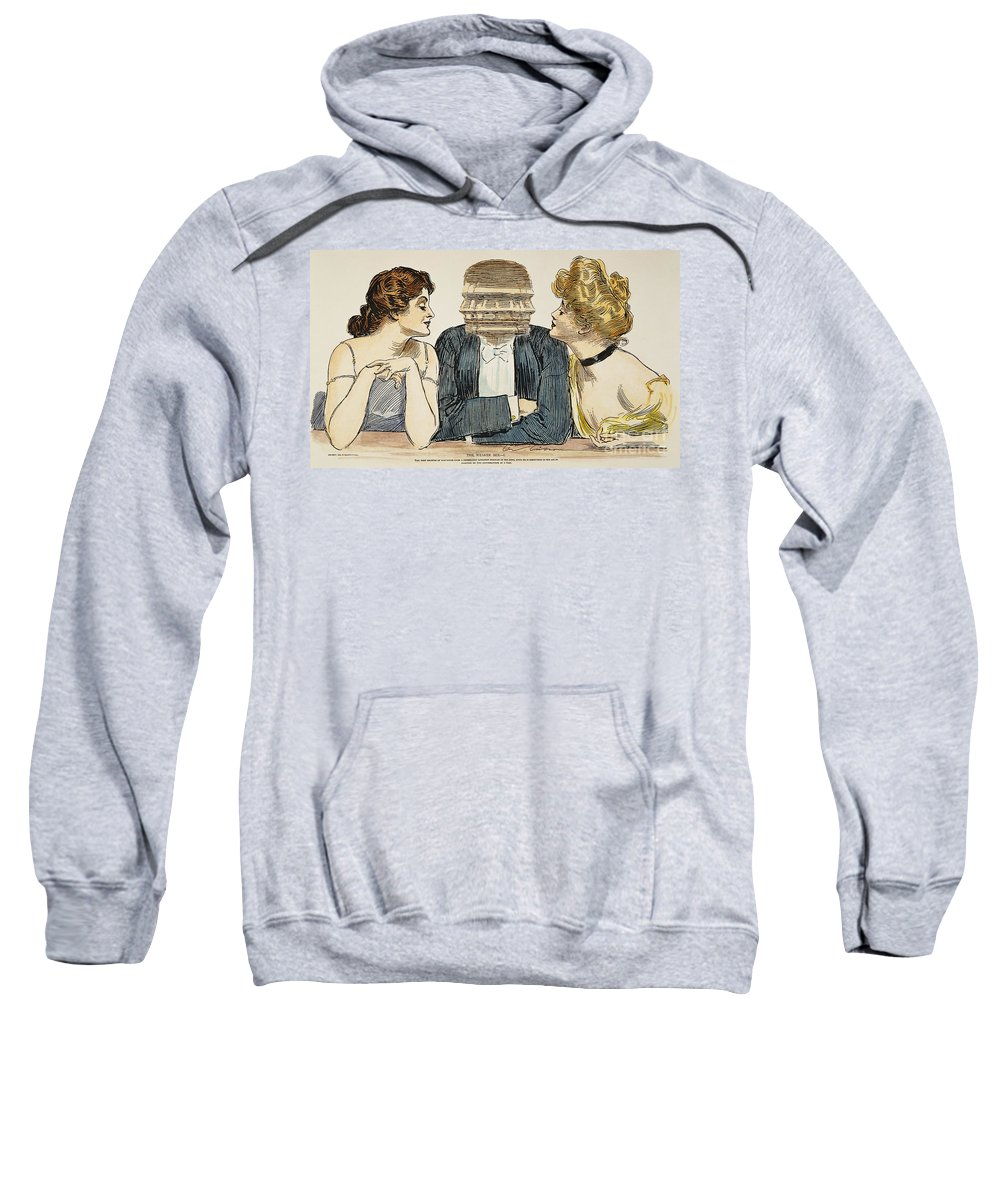 1903 Sweatshirt featuring the photograph Gibson Girls, 1903 by Granger