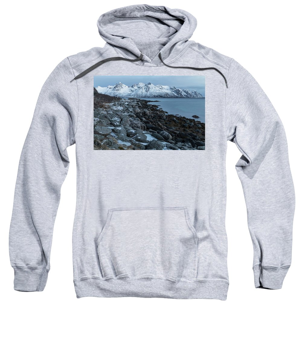Gimsoy Sweatshirt featuring the photograph Gimsoy, Lofoten - Norway by Joana Kruse