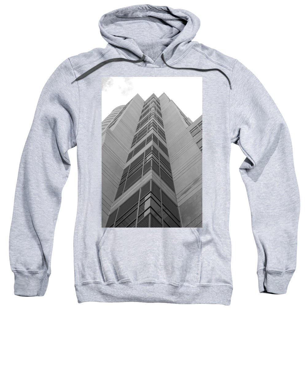 Architecture Sweatshirt featuring the photograph Glass Tower by Rob Hans