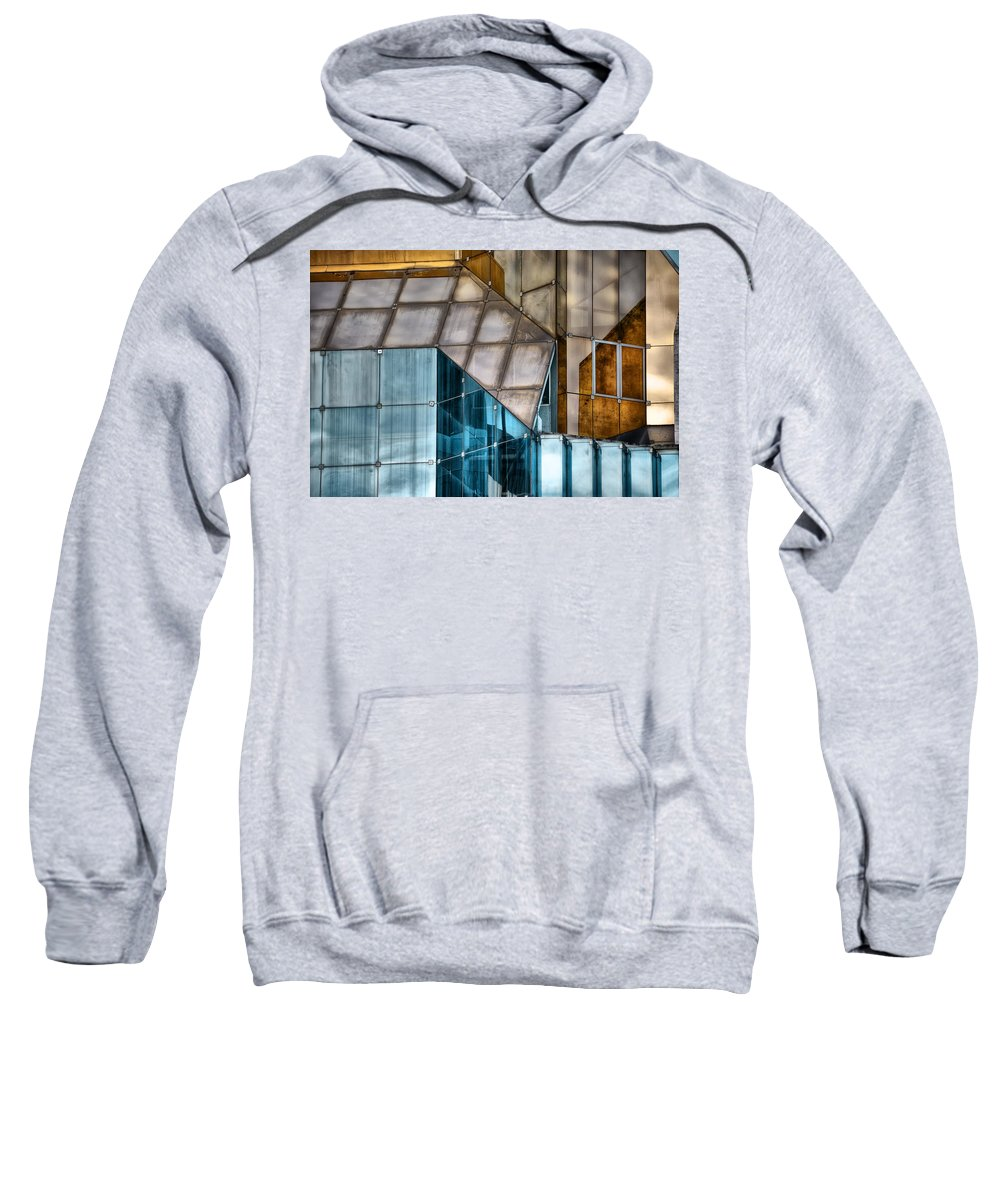 Glass Sweatshirt featuring the photograph Glassed by Wayne Sherriff