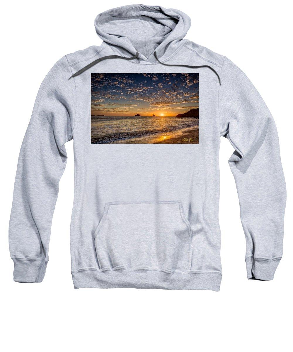 Atmosphere Sweatshirt featuring the photograph Glorious Playa Sunset by Rikk Flohr