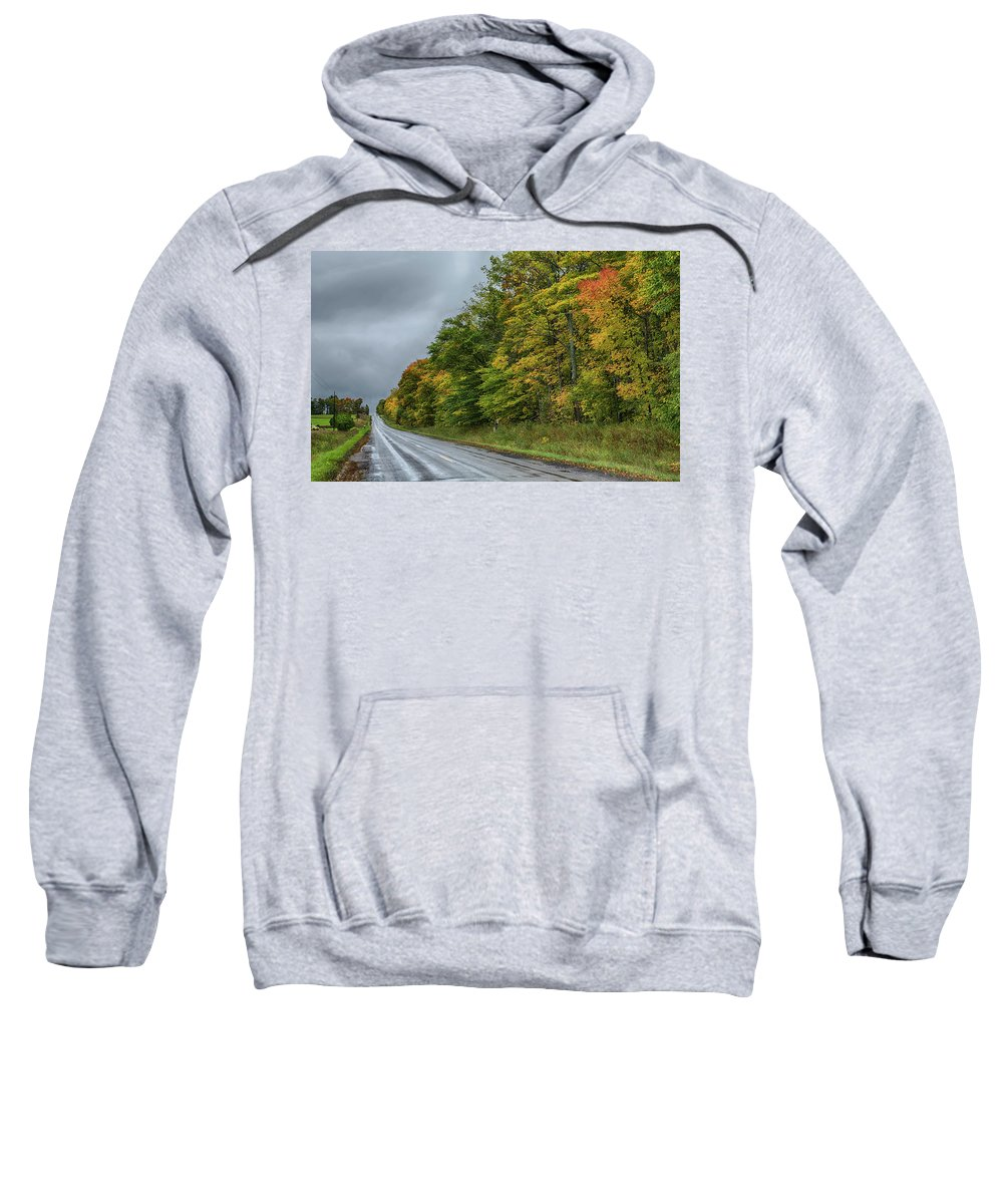 Sky Sweatshirt featuring the photograph Glory Of The Trees by John M Bailey