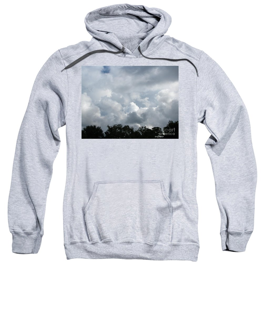 Patzer Sweatshirt featuring the photograph God Scent by Greg Patzer