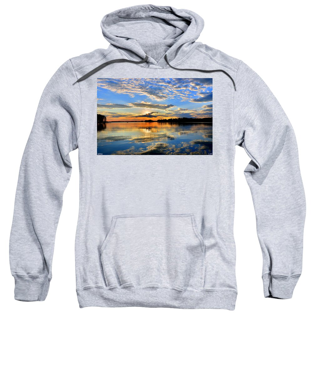 God's Glory Sweatshirt featuring the photograph God's Glory by Lisa Wooten