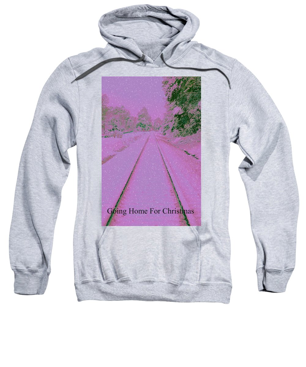 Christmas Sweatshirt featuring the photograph Going Home For Christmas by Donna Bentley