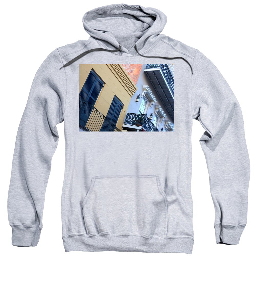 New Orleans Sweatshirt featuring the photograph Gold And Gray In New Orleans by Carol Groenen