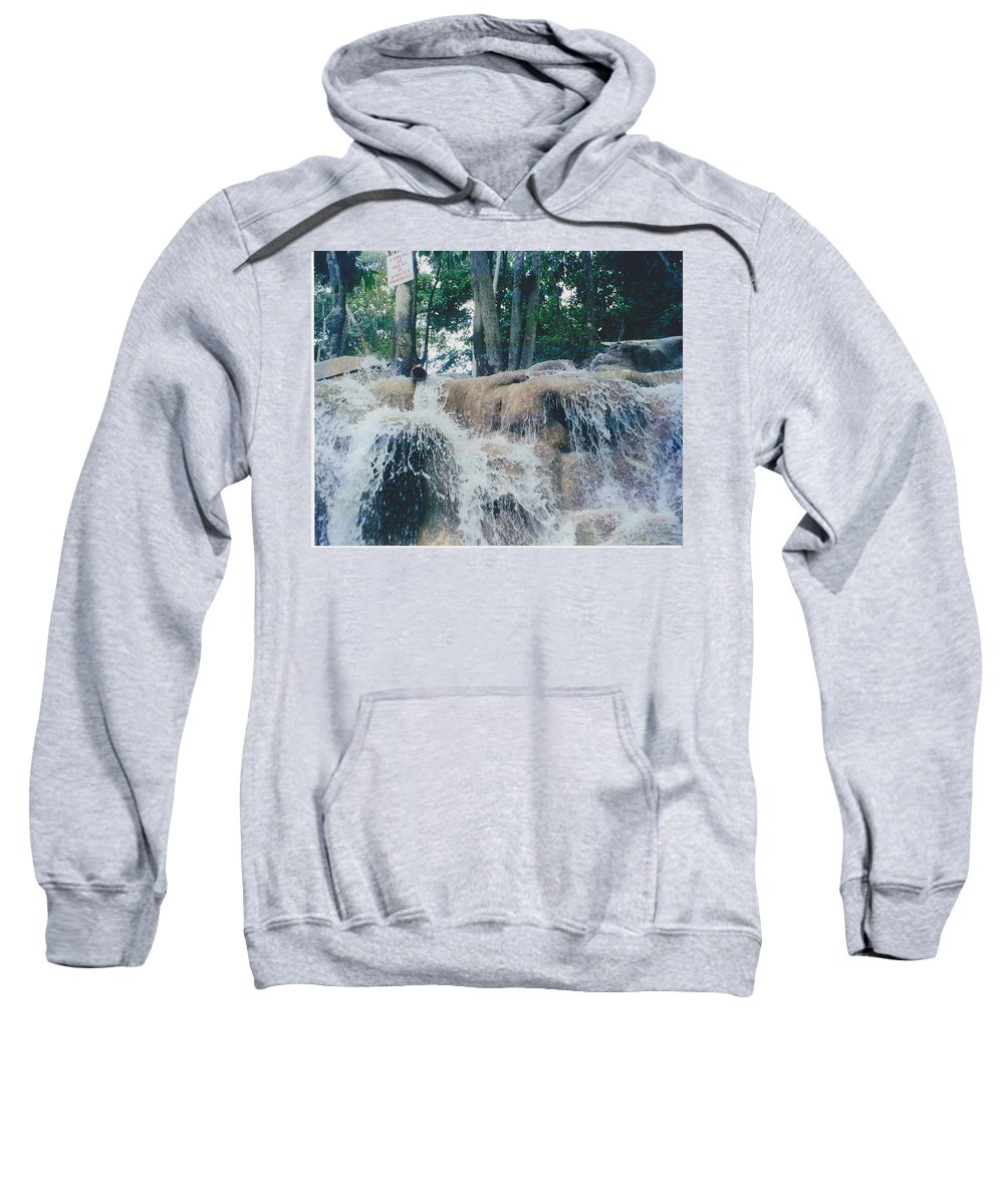 Water Sweatshirt featuring the photograph Gold Rock by Michelle Powell