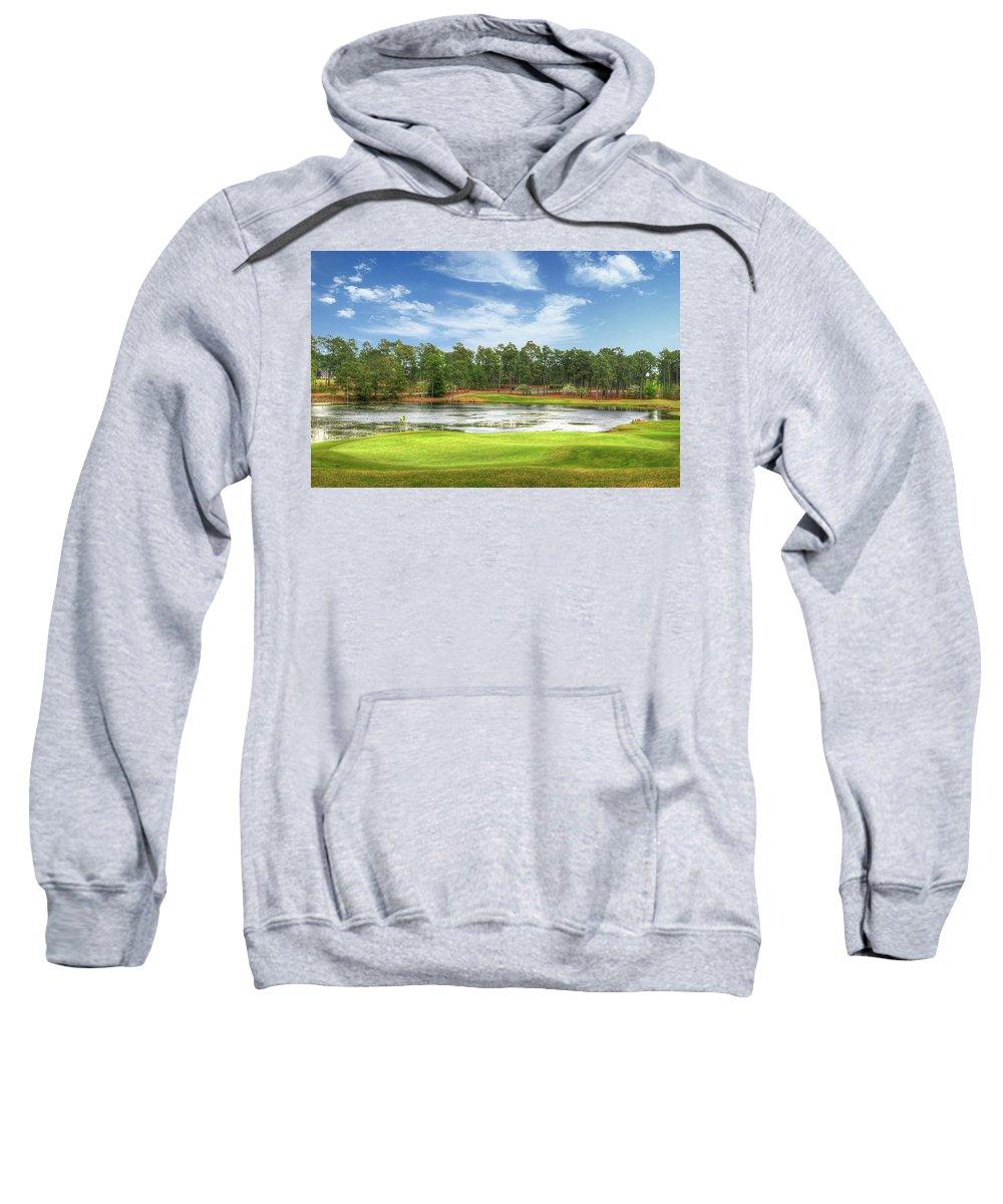 Pinehurst Sweatshirt featuring the photograph Golf At Pinehurst by Ryan Barmore
