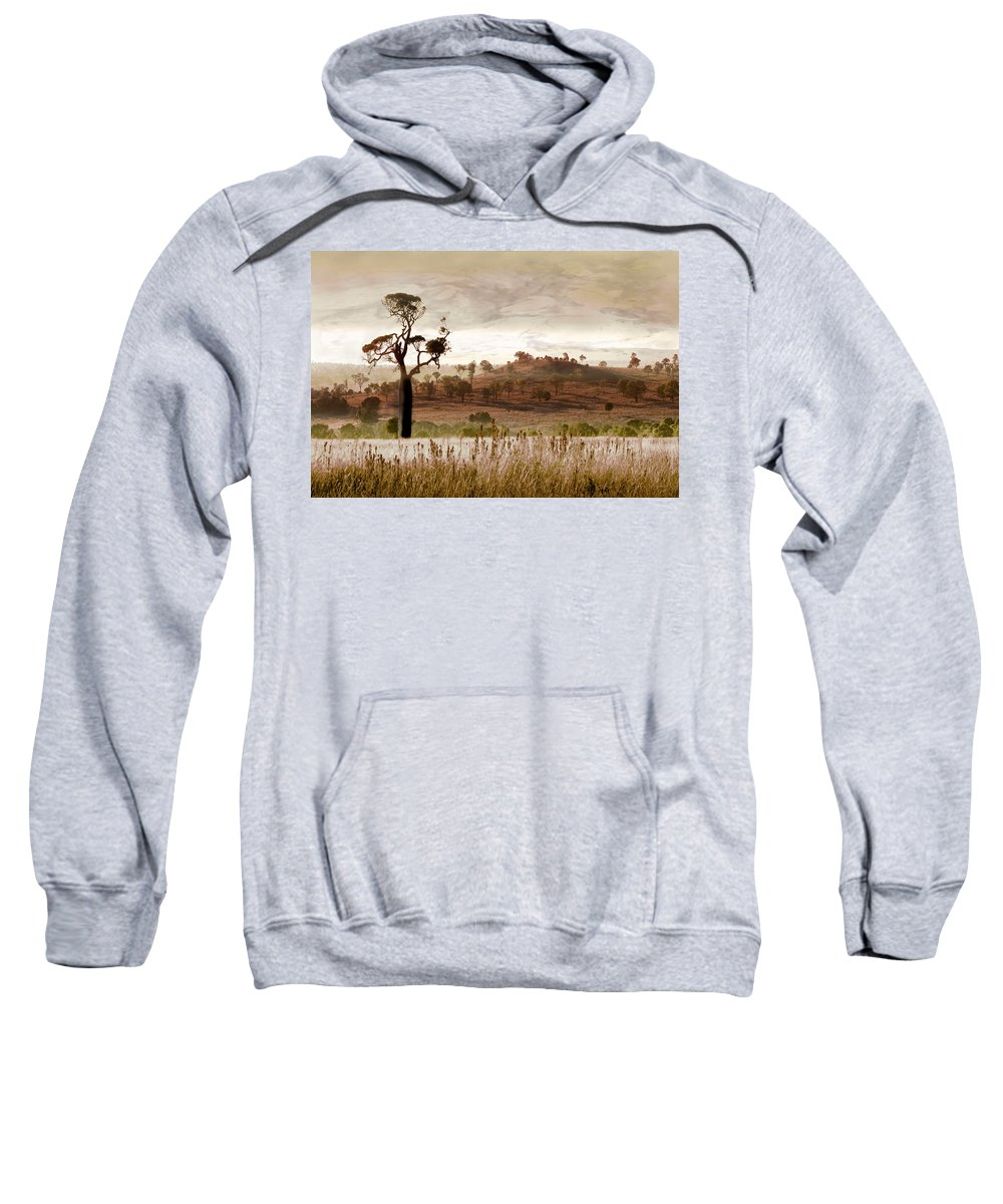 Landscapes Sweatshirt featuring the photograph Gondwana Boab by Holly Kempe