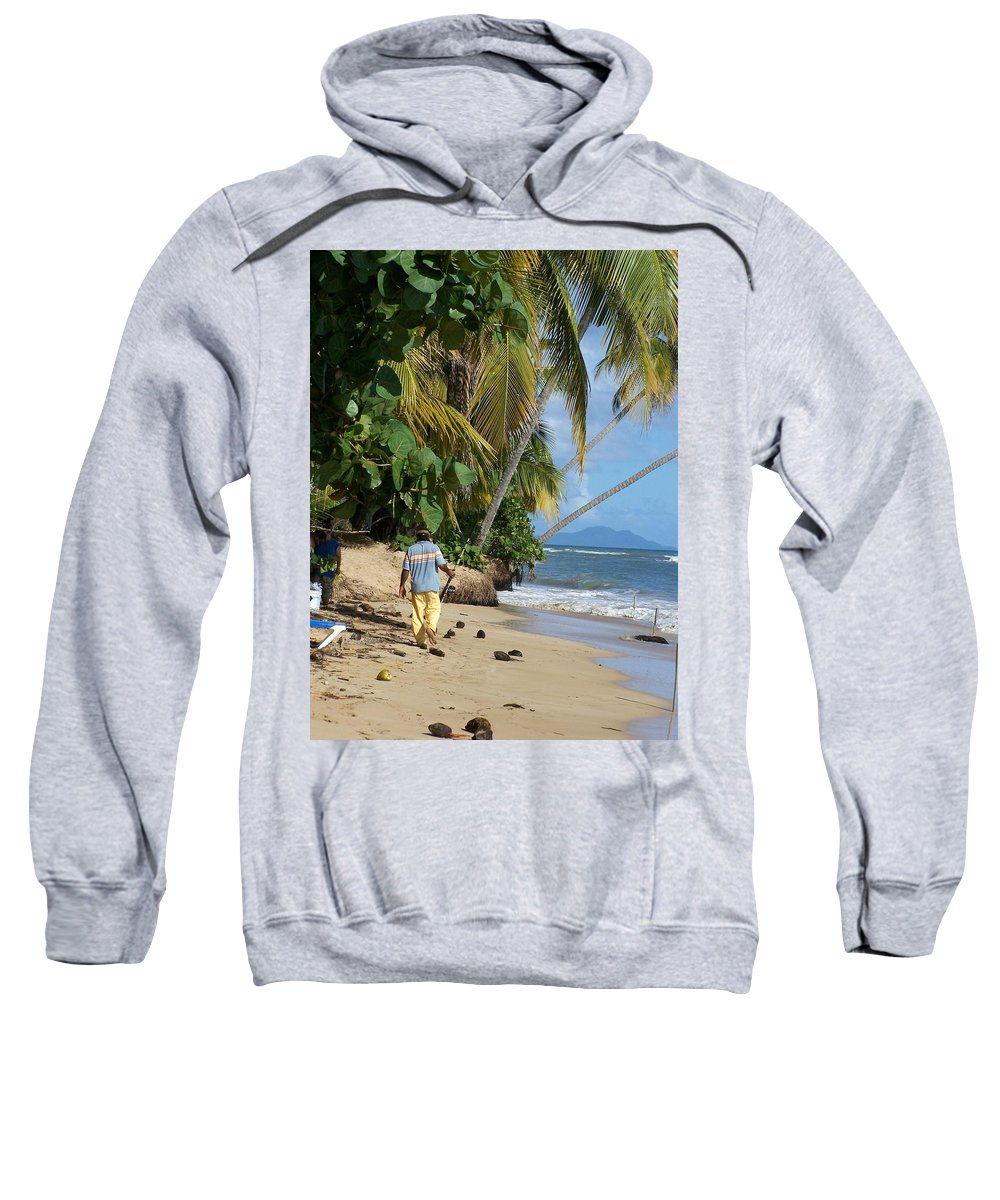 Puerto Rico Sweatshirt featuring the photograph Gone Fishing by Marilyn Holkham