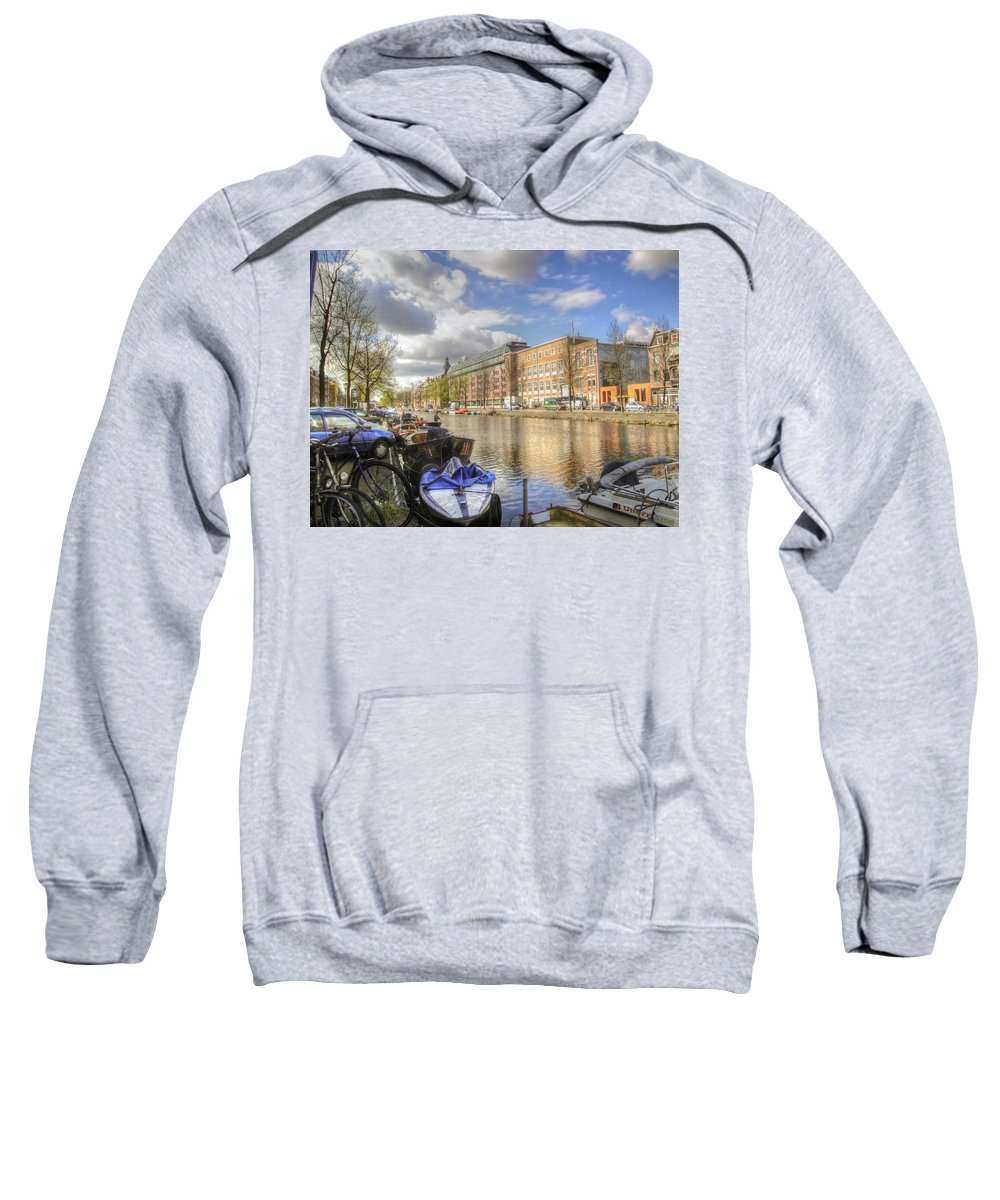 Amsterdam Sweatshirt featuring the photograph Good Morning Amsterdam by Dolly Sanchez