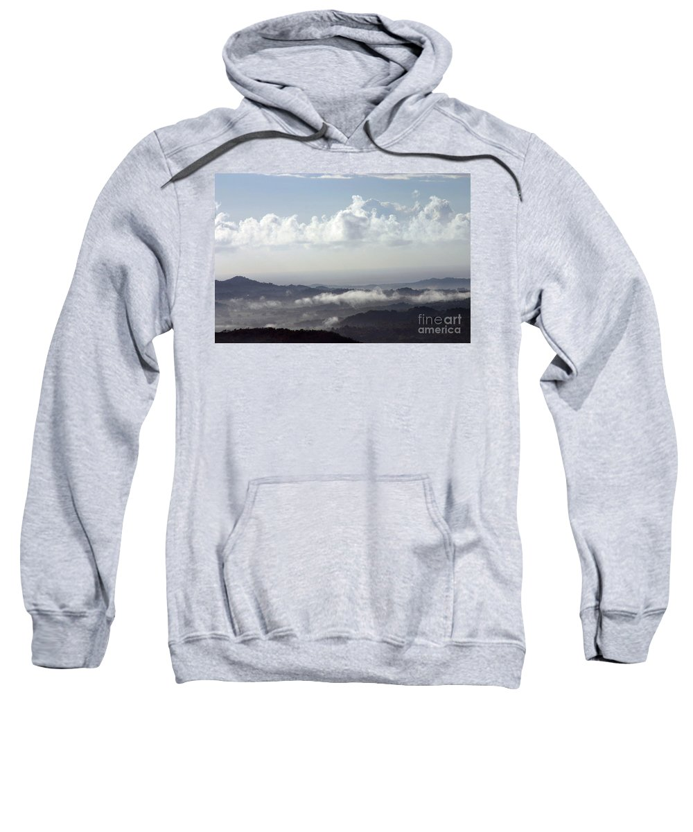 Mountains Sweatshirt featuring the photograph Good Morning Puerto Rico by Gilberto Marcano