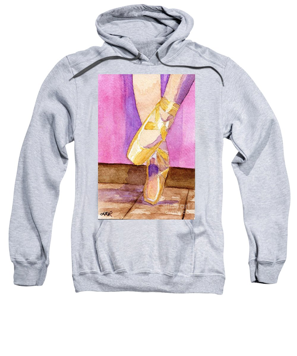 Watercolor Sweatshirt featuring the painting Gotta Dance by Lynne Reichhart