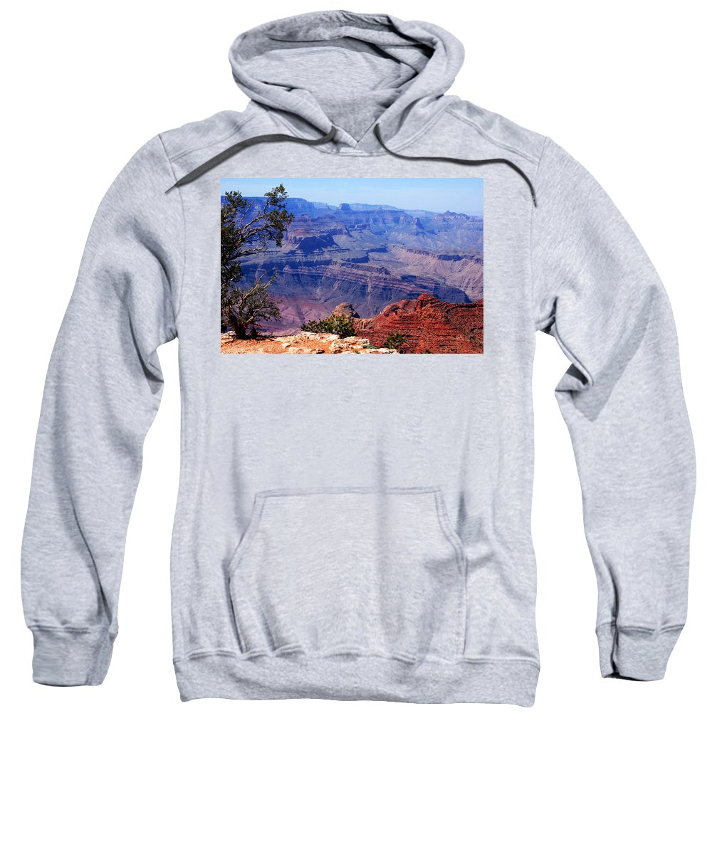 Photography Sweatshirt featuring the photograph Grand Canyon View by Susanne Van Hulst