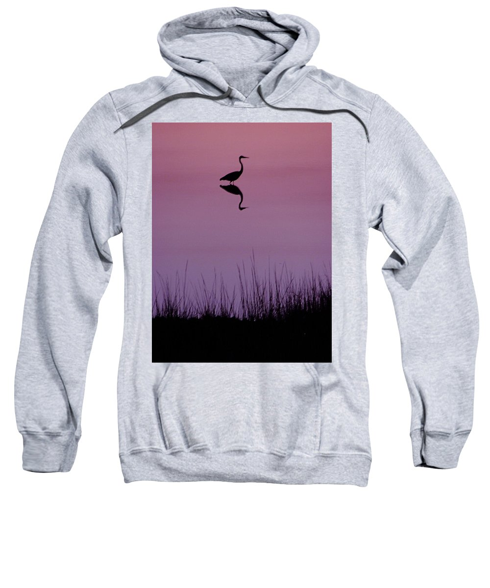 Great Blue Heron Sweatshirt featuring the photograph Great Blue Heron IIi by Brett Winn