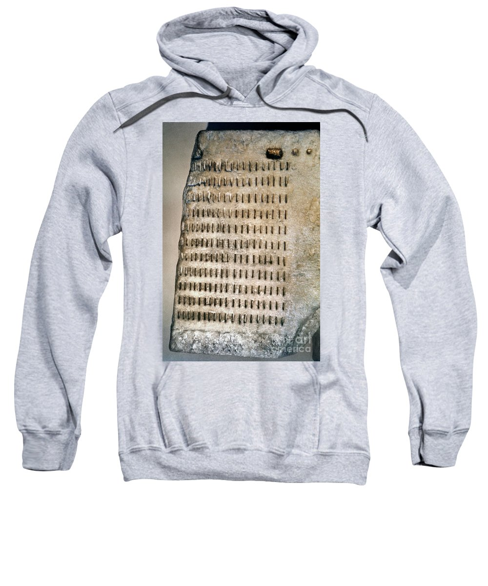 5th Century B.c. Sweatshirt featuring the photograph Greece: Jury Duty by Granger