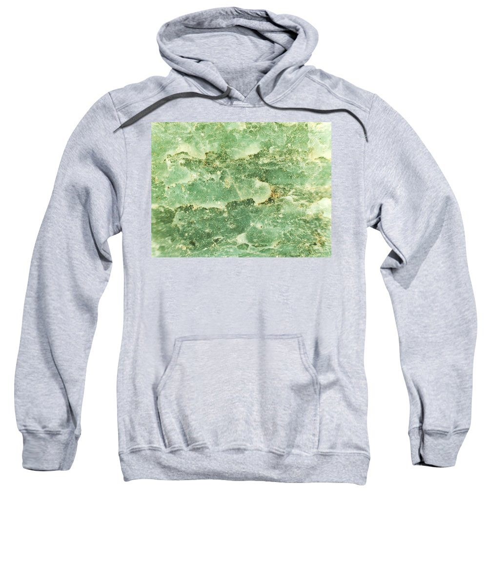 Abstract Sweatshirt featuring the photograph Green Turtiuus by Michael Hackney