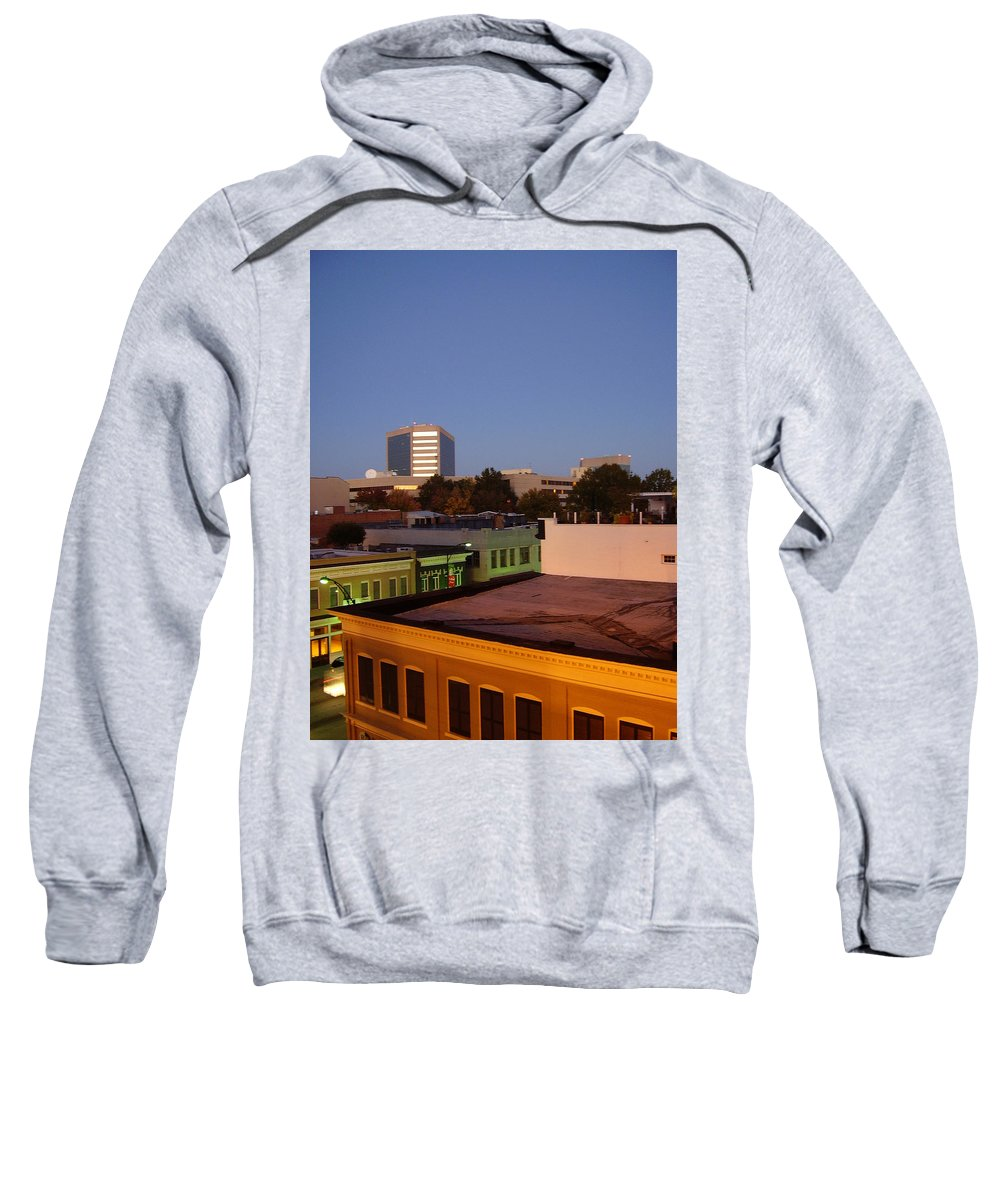Greenville Sweatshirt featuring the photograph Greenville by Flavia Westerwelle