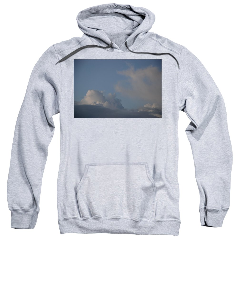 Clouds Sweatshirt featuring the photograph Greyskys by Rob Hans