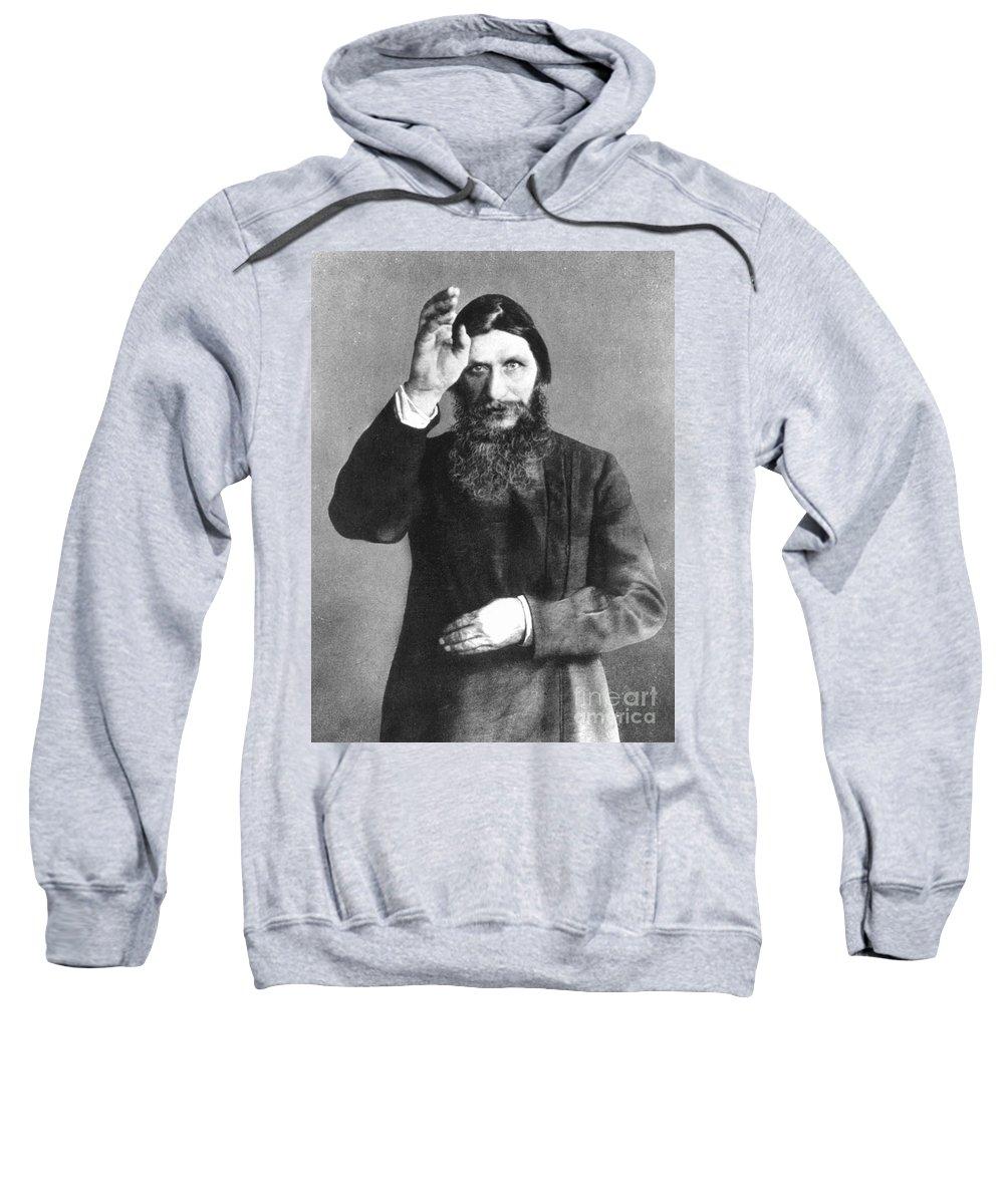 20th Century Sweatshirt featuring the photograph Grigori Efimovich Rasputin by Granger