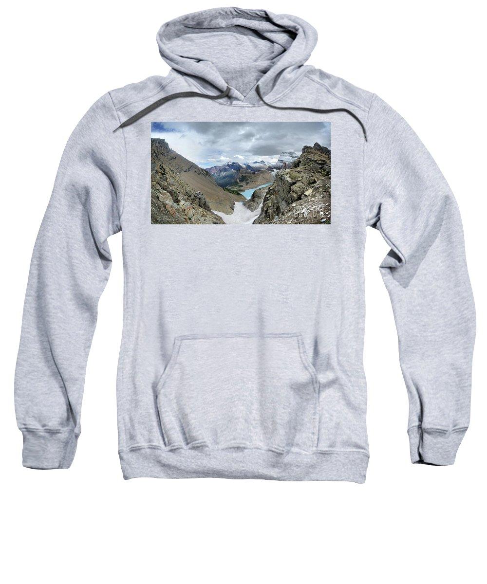Glacier National Park Sweatshirt featuring the photograph Grinnell Glacier Overlook - Glacier National Park by Bruce Lemons
