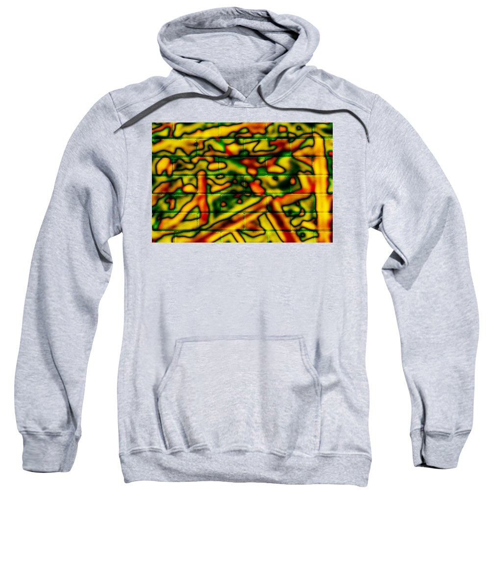 Digital Sweatshirt featuring the photograph Grunge Graffiti by Phill Petrovic