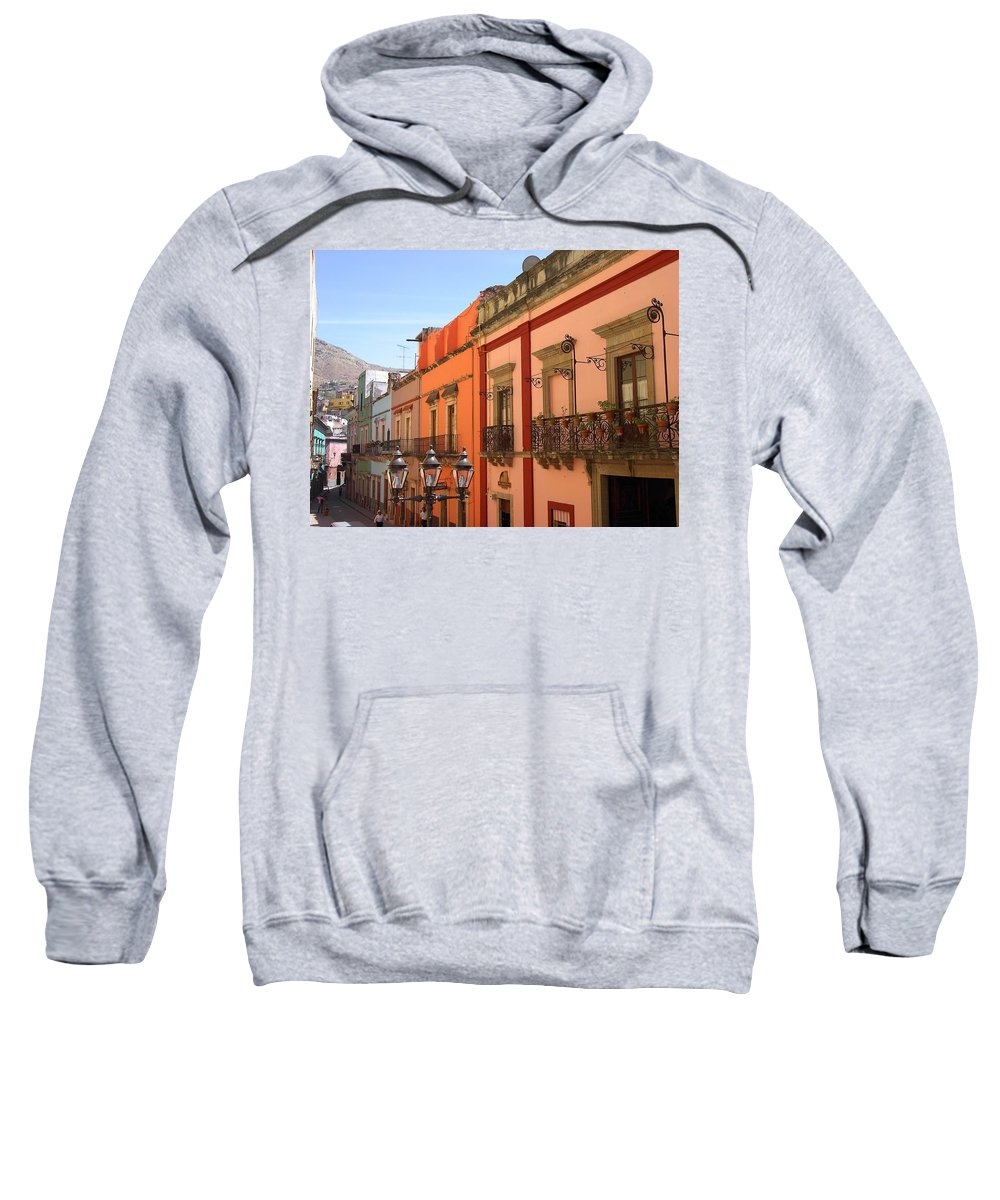 Charity Sweatshirt featuring the photograph Guanajuato by Mary-Lee Sanders
