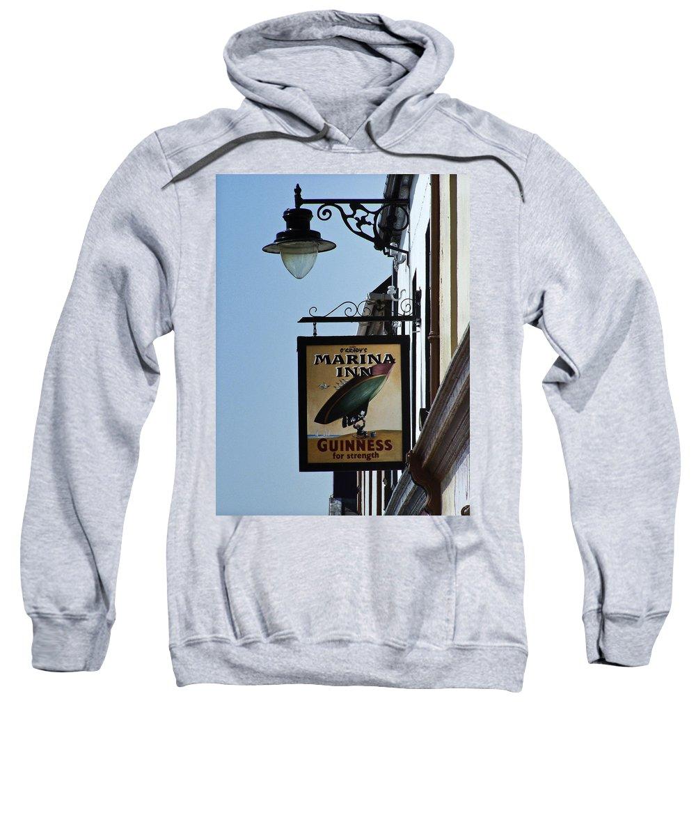 Irish Sweatshirt featuring the photograph Guinness For Strength Dingle Ireland by Teresa Mucha