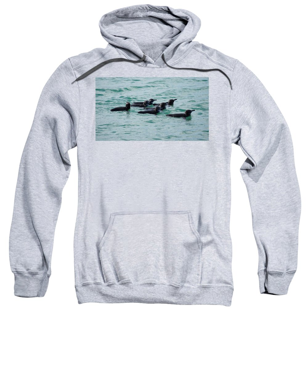 Sweatshirt featuring the photograph Guys We Are Leaving Someone Behind by Diego Paredes