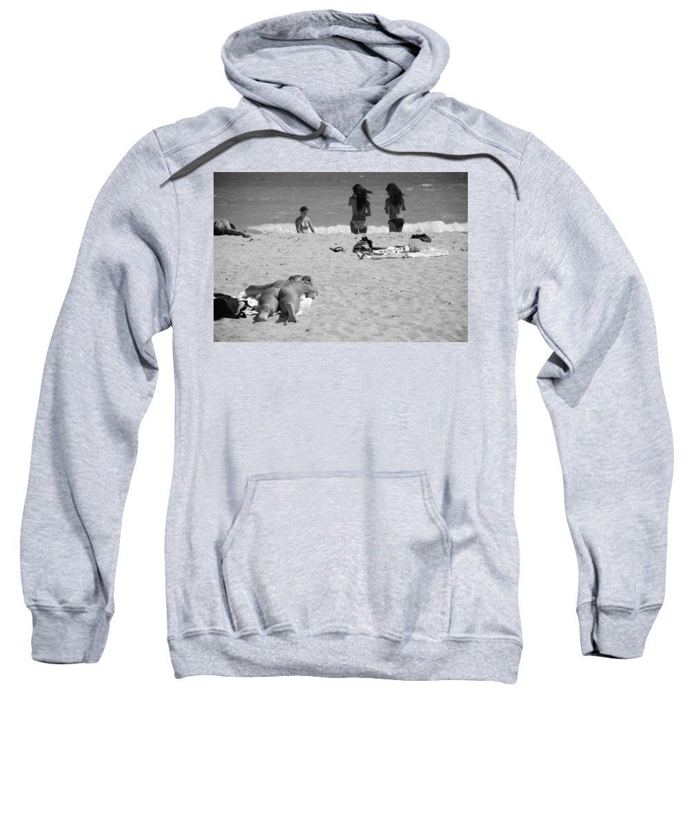 Miami Sweatshirt featuring the photograph Half Dead Half Alive by Rob Hans