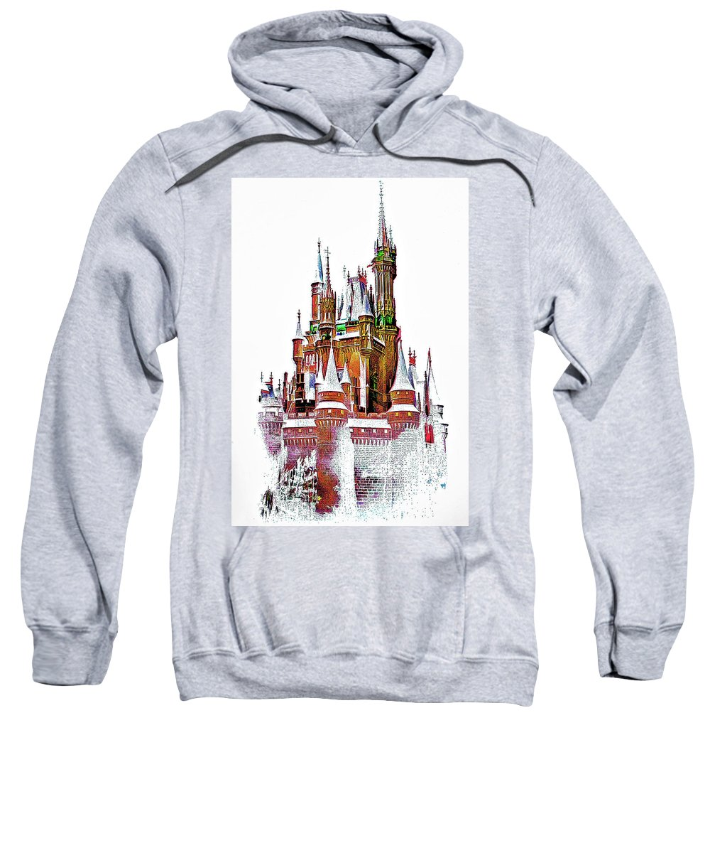 Castle Sweatshirt featuring the photograph Hall Of The Snow King by Steve Harrington