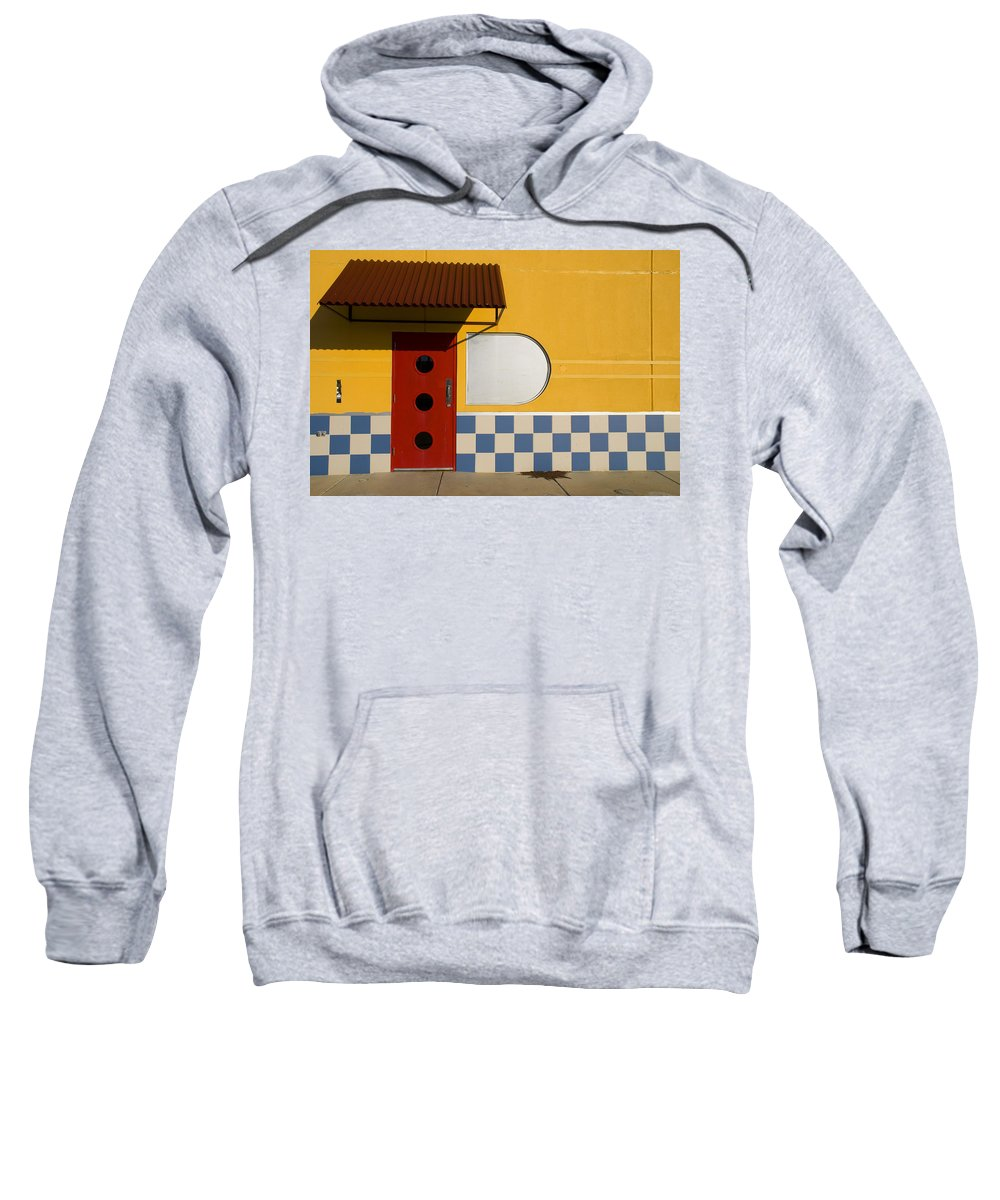 Architecture Sweatshirt featuring the photograph Happy Days by Skip Hunt
