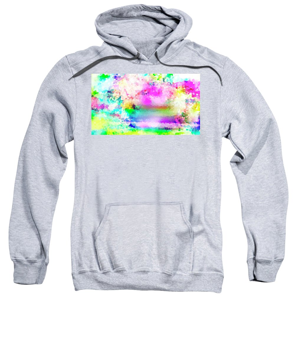 Colorful Sweatshirt featuring the photograph Happy by Melissa Deanching
