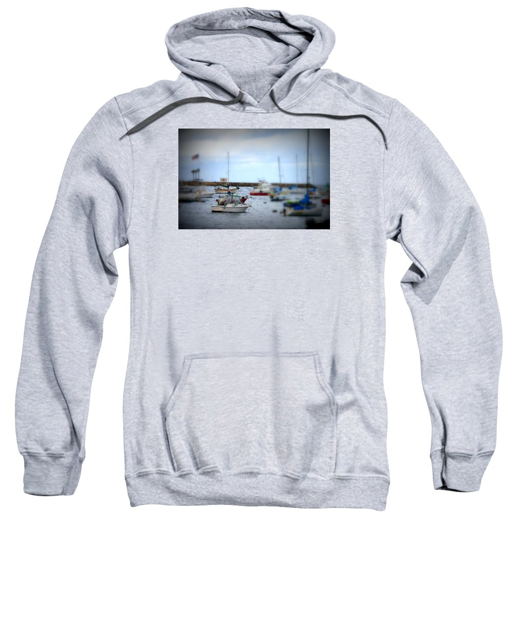 Sailboats Sweatshirt featuring the photograph Harbour Boats by Bill Hamilton