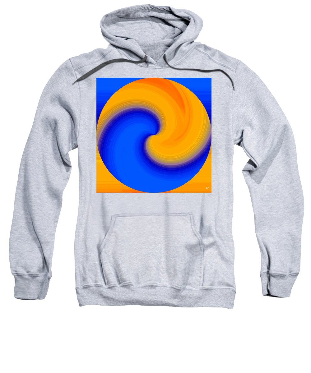 Abstract Sweatshirt featuring the digital art Harmony 23 by Will Borden