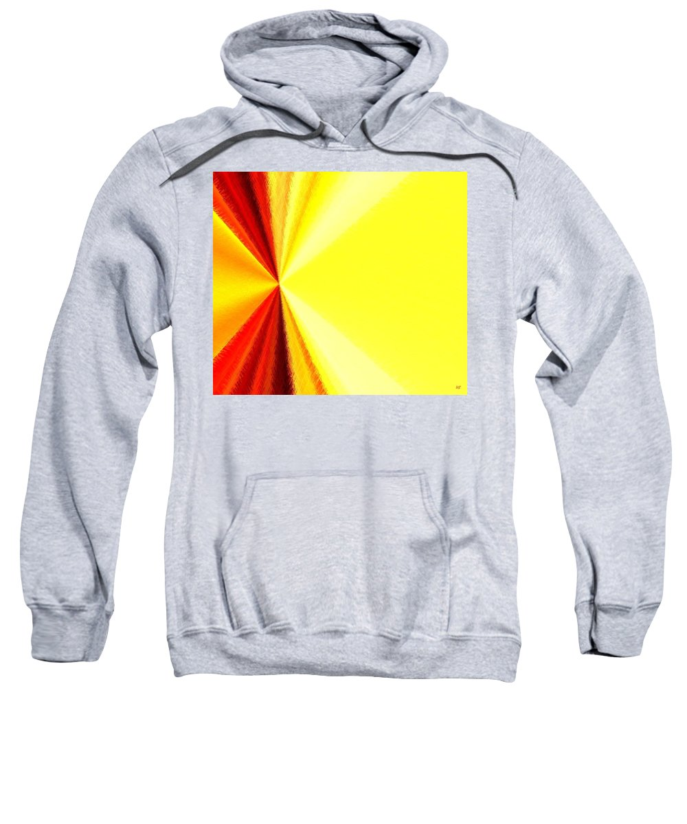 Abstract Sweatshirt featuring the digital art Harmony 29 by Will Borden